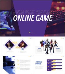 Online Game Keynote Presentation Template_00