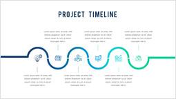 프로젝트 타임 라인 PPT 레이아웃_00