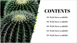 Simple Table of Contents Slide_00