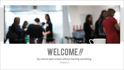 Welcome page_2 slides