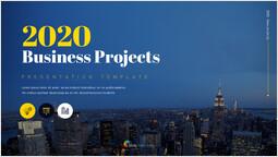 2020 비즈니스 프로젝트 단일 슬라이드 커버_00