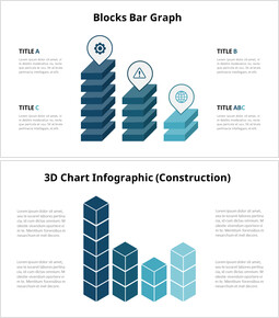 3D Bar Chart Infographic Animation Chart_10 slides