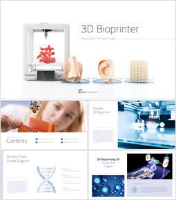 3D 바이오 프린터 크리에이티브 키노트 템플릿_00