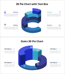 3D Donut Chart Animation Templates_8 slides