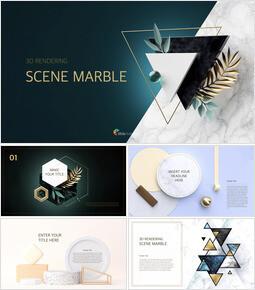 3d Rendering Scene Marble Best Keynote_00