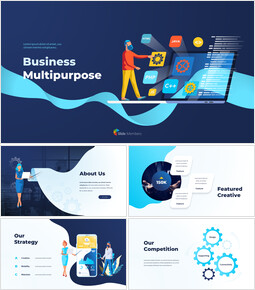 Animated Templates - Business Multipurpose ppt_00