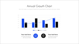 Annual Growth Chart PowerPoint Slide_00