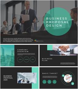 사업 제안서 심플한 Google 슬라이드 템플릿_00