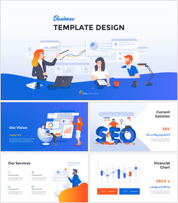 Business Template Design Animated Slides_00