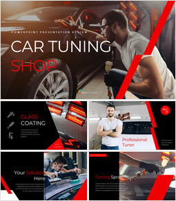 Car Tuning Shop Easy PowerPoint Design_00