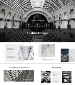 Ceiling Design PowerPoint for mac_00