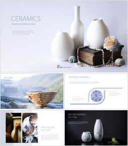 Ceramics Simple Keynote Template_00