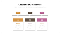 Circular Flow of Process PPT Background_00