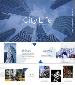 도시의 삶 Google 프레젠테이션 템플릿_00