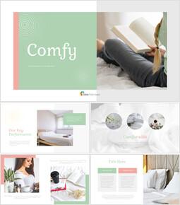 Comfy Simple Presentation Google Slides Template_40 slides