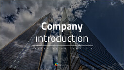 Company introduction PowerPoint Design Cover_00