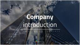 회사 소개 PowerPoint Design Cover_00