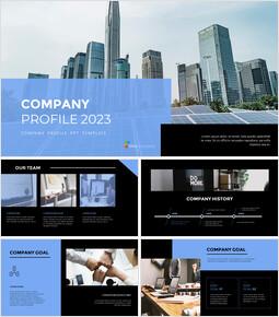 회사 프로필 프레젠테이션을 위한 구글슬라이드 템플릿_00