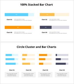 Comparison Column Chart_10 slides