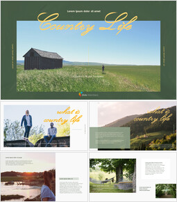 Country Life Best PowerPoint Presentation Templates_00