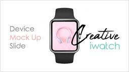 Creative Iwatch Device Mockup Silde 슬라이드_00