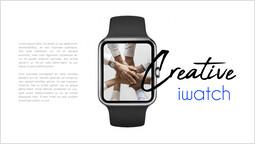 크리에이티브 Iwatch 기기 목업 템플릿_00