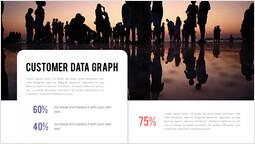 고객 데이터 그래프 페이지 템플릿_2 slides