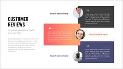고객 리뷰 프레젠테이션 슬라이드_2 slides