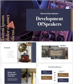 Sviluppo di altoparlanti Design del keynote_40 slides