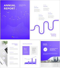 Dynamic Background Annual Report Google Slides Themes_00