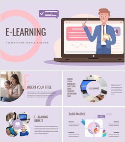 E-learning Google PowerPoint Presentation_00