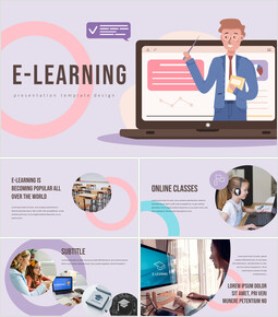 E-learning Slide PPT_00