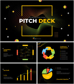Electronic Pattern Pitch Deck Design Presentation Google Slides Templates_00