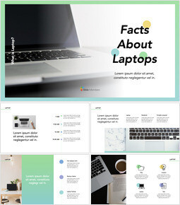 Facts about Laptop Simple Keynote Template_00