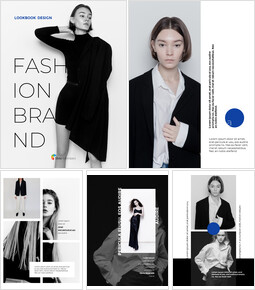 Fashion Brand Vertical Lookbook Best Business PowerPoint Templates_00