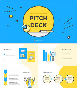 Flat Design Layout Pitch Deck Simple Presentation Google Slides Template_00