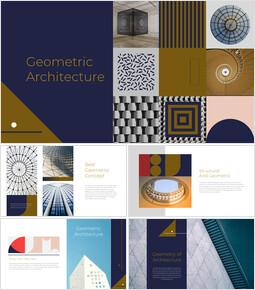 기하학적 건축 창의적인 구글슬라이드_00