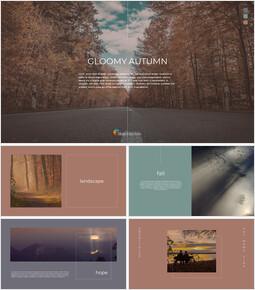 Gloomy Autumn Interactive Google Slides_00