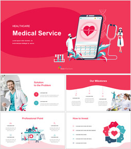 Healthcare Medical Service Easy Google Slides Template_00