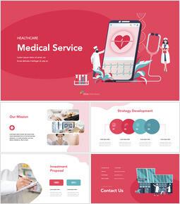 건강 관리 의료 서비스 iMac 키노트_00