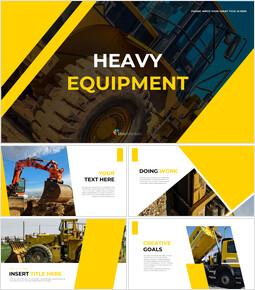 Heavy Equipment Google Slides Template Design_00