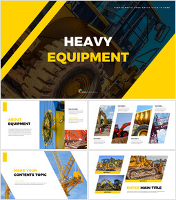Heavy Equipment PowerPoint Proposal_40 slides