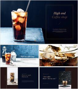 High end coffee shop Interactive Keynote_00