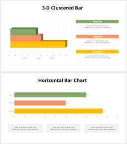 Horizontal Bar Chart with Texts_8 slides