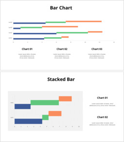 Horizontal Step Chart_6 slides
