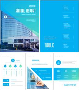 병원 사업 연례 보고서 심플한 Google 프레젠테이션_00