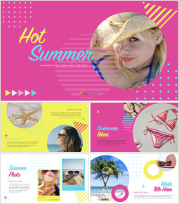 Hot Summer Keynote Templates for Creatives_00