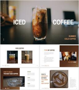 Iced coffee Best Keynote_41 slides