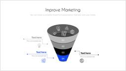 Migliora il marketing slide deck_2 slides