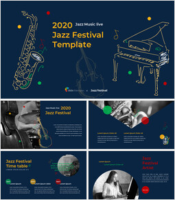 Jazz Festival Google Slides Presentation_00